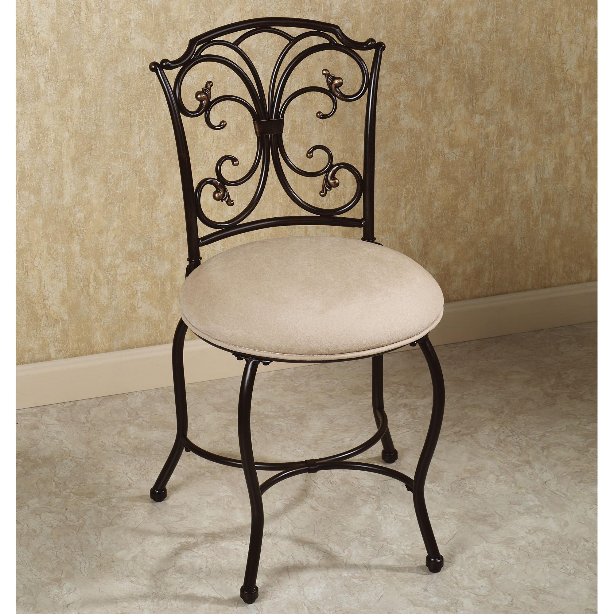 Bathroom Popular Design Furniture Elegant Black Vanity Chairs For Bathroom Vanity Chair For Bathroom For Contemporary Or Classic Bathroom Design Bathroom Inspired 2016