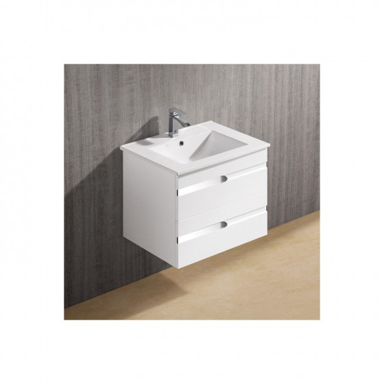 Bathroom Popular Design Furniture Simple Wall Mount Vanity With